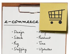 Tienda online planning