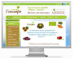tiendas online prestashop: Alimentación ecológica