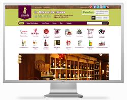tiendas online prestashop: comprar vino