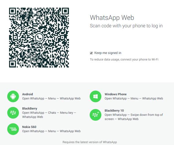 WhatsAppWeb para Ordenador