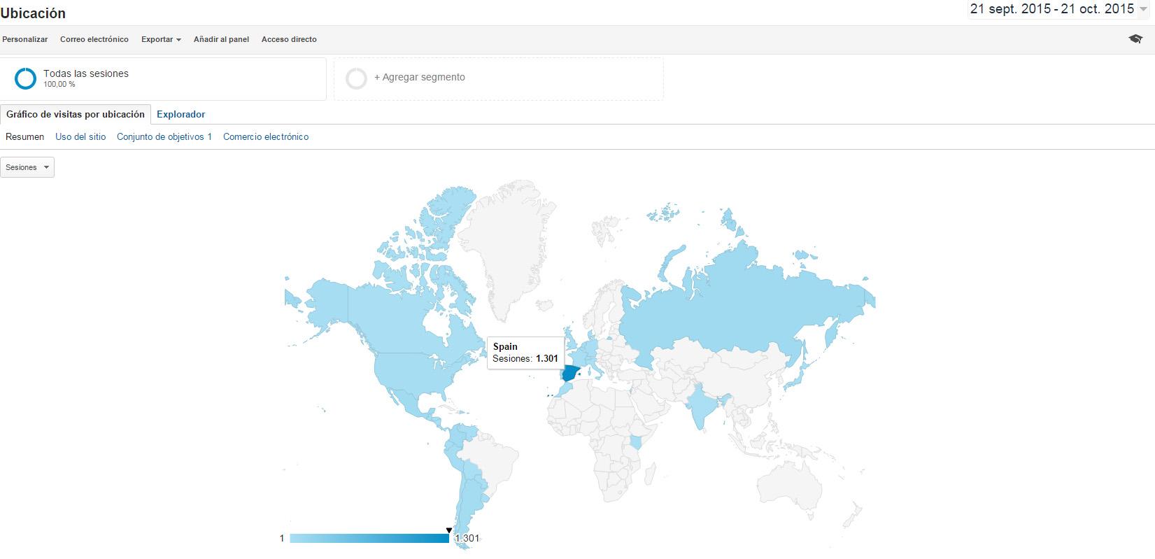 de donde visitan mi web