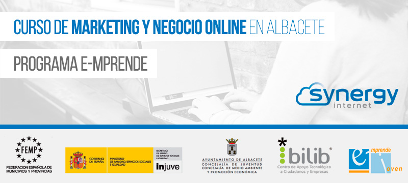 Curso de Marketing y Negocio Online en Albacete, Programa E-mprende