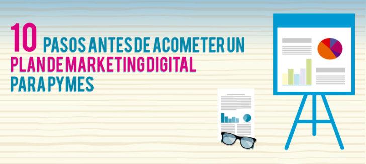 Pasos Plan Marketing Digital