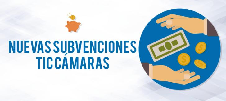 subvenciones empresas, pymes y autonomos TIC cámaras