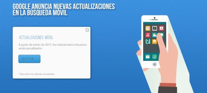 Actualización del algoritmo de Google movil