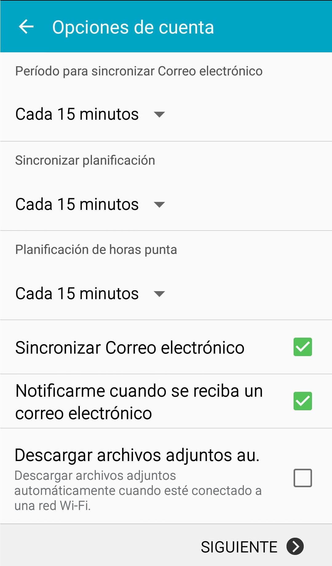 android-correo-opciones-cuenta