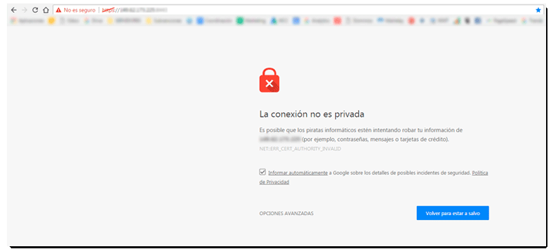 Certificado SSL para que tu sitio web sea seguro