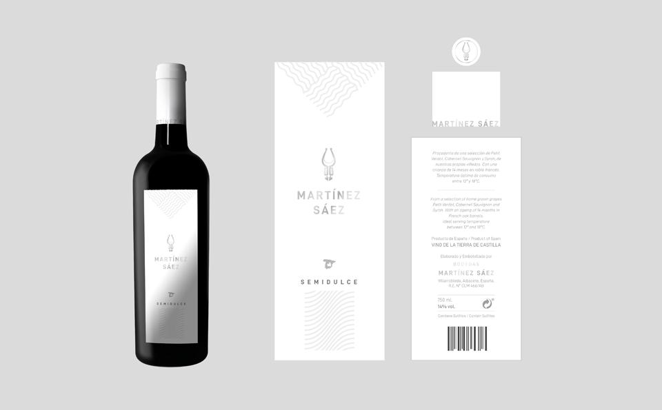 Diseño - Bodegas Martínez Sáez