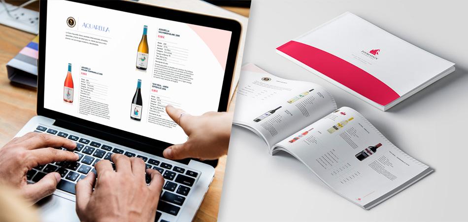 Catálogo impreso vs Catálogo digital